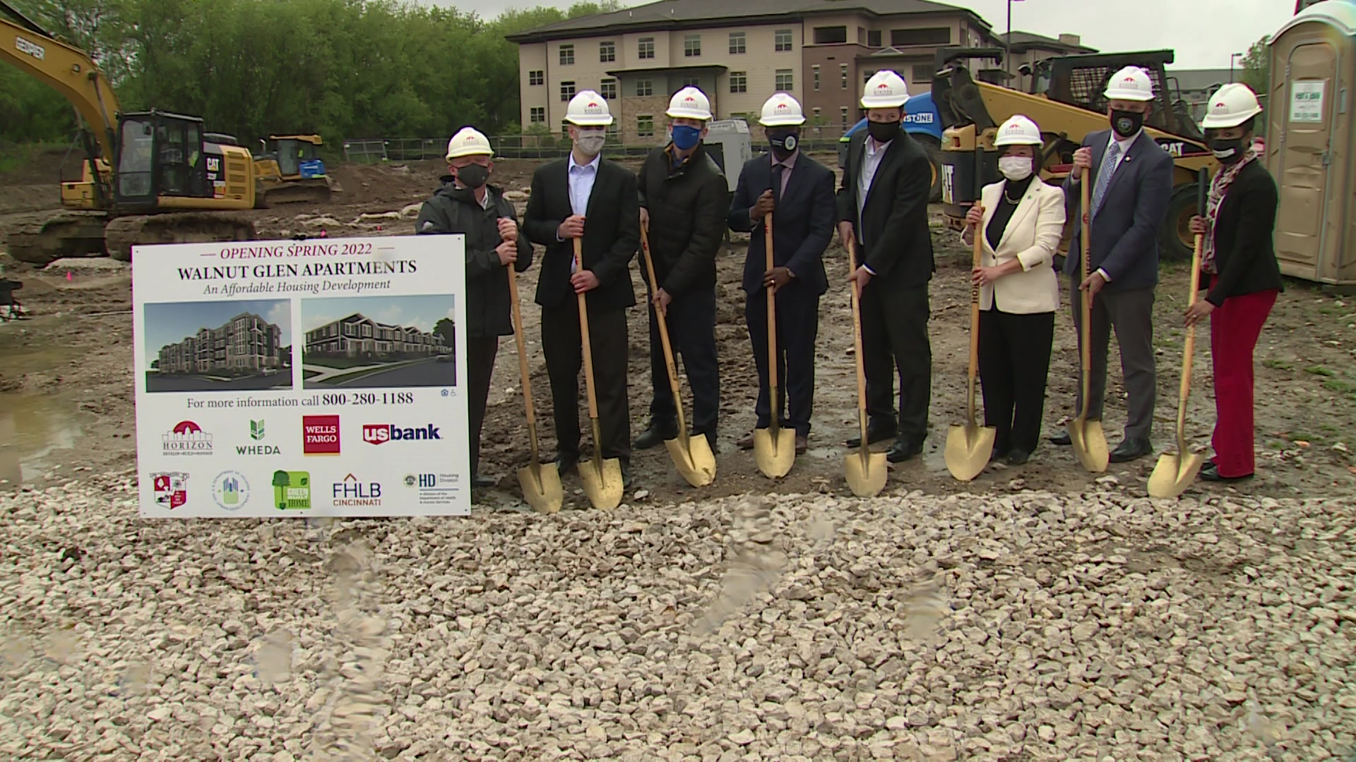 Groundbreaking ceremony held for new affordable housing development in Wauwatosa