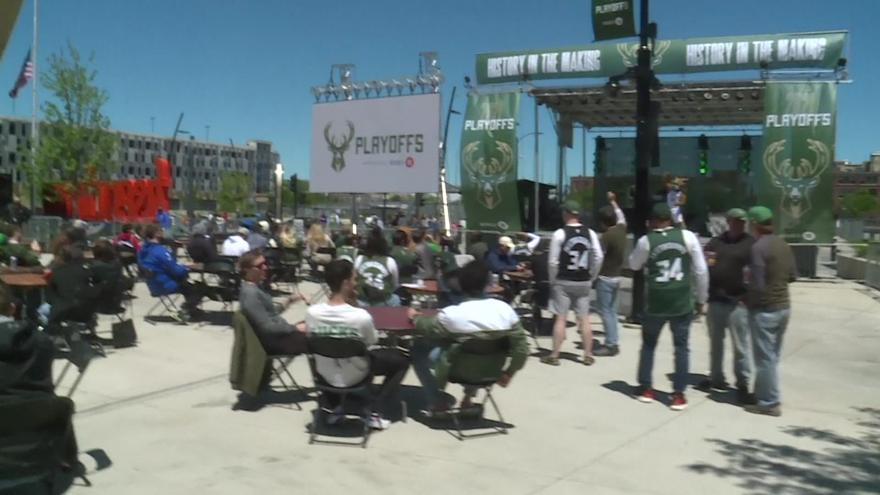 Cheer on the Deer! Bucks to host watch party for Game 1 vs ...