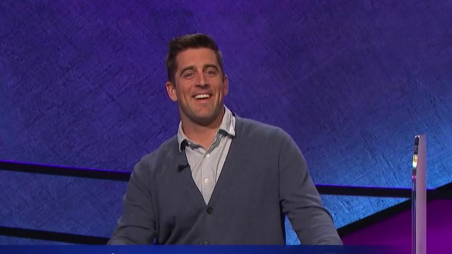Aaron Rodgers to guest host 'Jeopardy!' starting next week on CBS 58