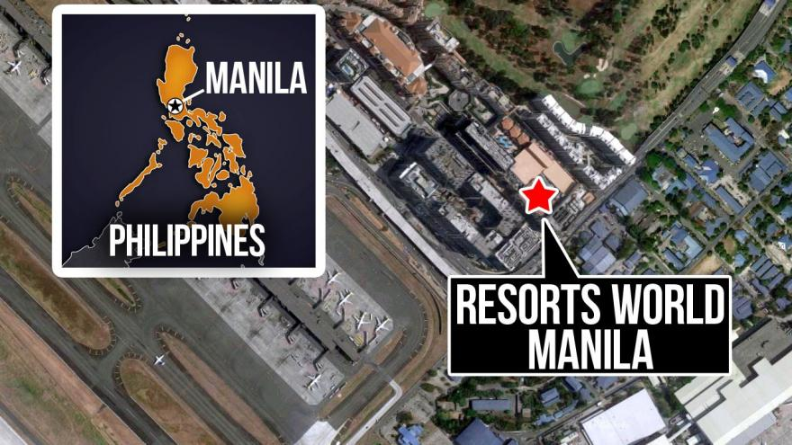 Witnesses report gunshots and explosions at Resorts World Manila in Philippines